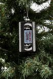 Glass Christmas Ornament, VHS TAPE