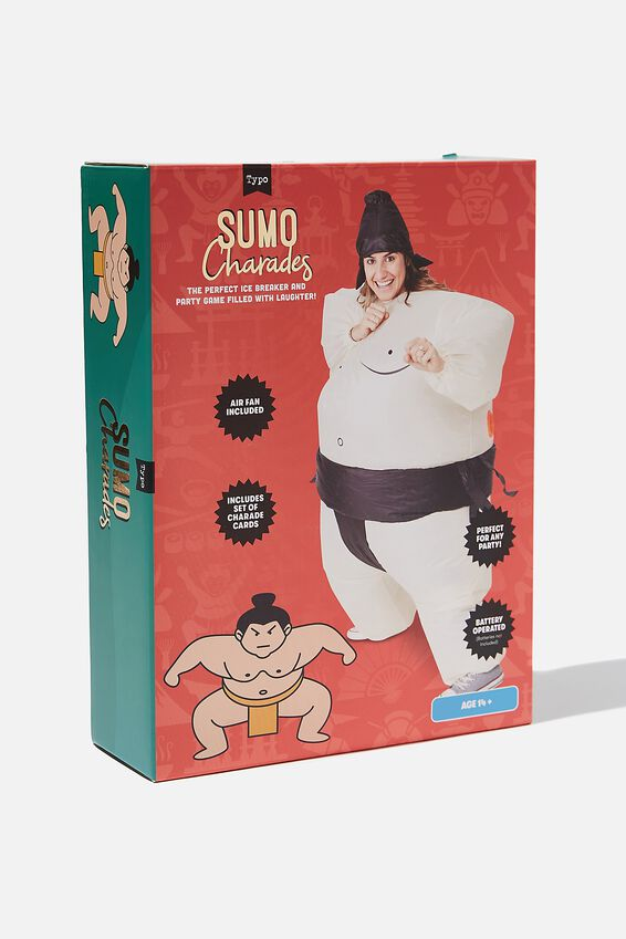 Inflatable Charades Game, SUMO CHARADES