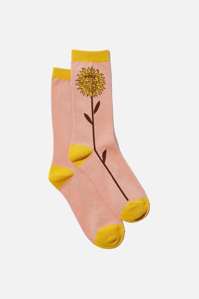 Socks, SUNFLOWER GOLDEN