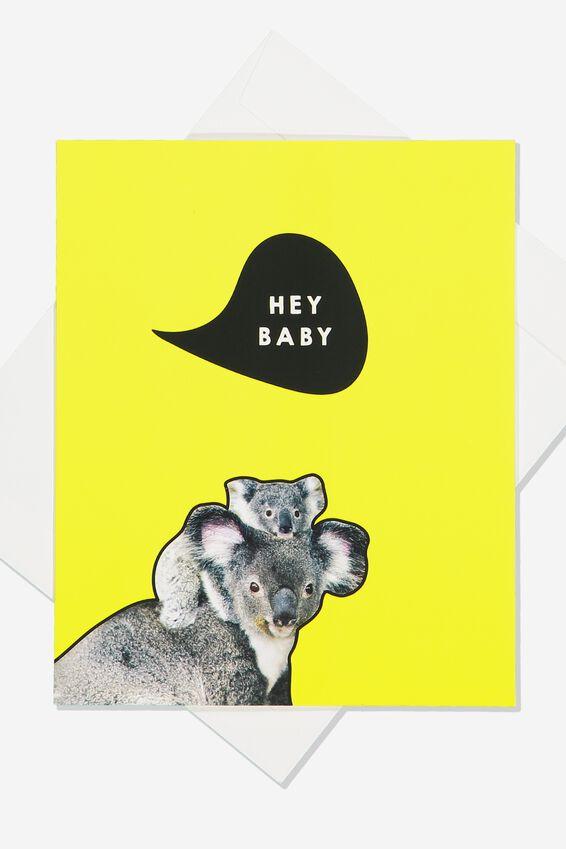 Baby Card, KOALA BABY
