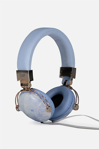 Tune Out Headphones, BLUE MARBLE
