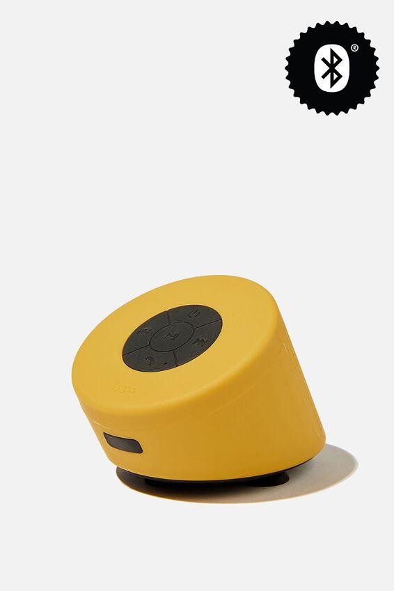 Wireless Shower Speaker, PREMIUM A.T. MUSTARD