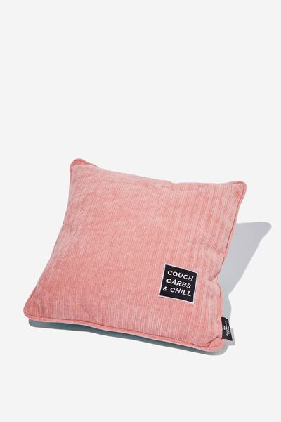 Square Cushy Cushion, COUCH CARBS