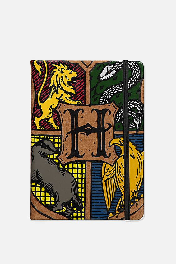 A5 Harry Potter Buffalo Journal, LCN WB HPO HOUSES