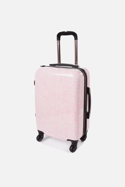 Small Suitcase, BLUSH LACE