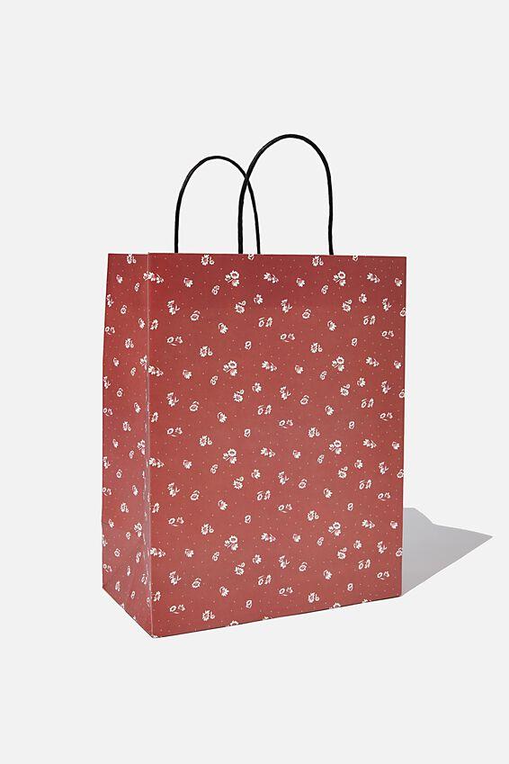 Get Stuffed Gift Bag - Medium, FLORENCE FLORAL