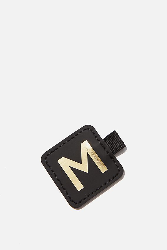 Pen Loop Sticker, BLACK M