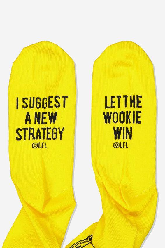 Star Wars Mens Novelty Socks, LCN LU C3PO