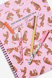 Flash Fash 3 Pk Pens, BRIGHTS & TERRAZZO