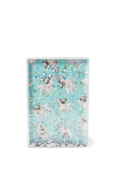 Shake It Photo Frame, HOLOGRAPHIC SILVER