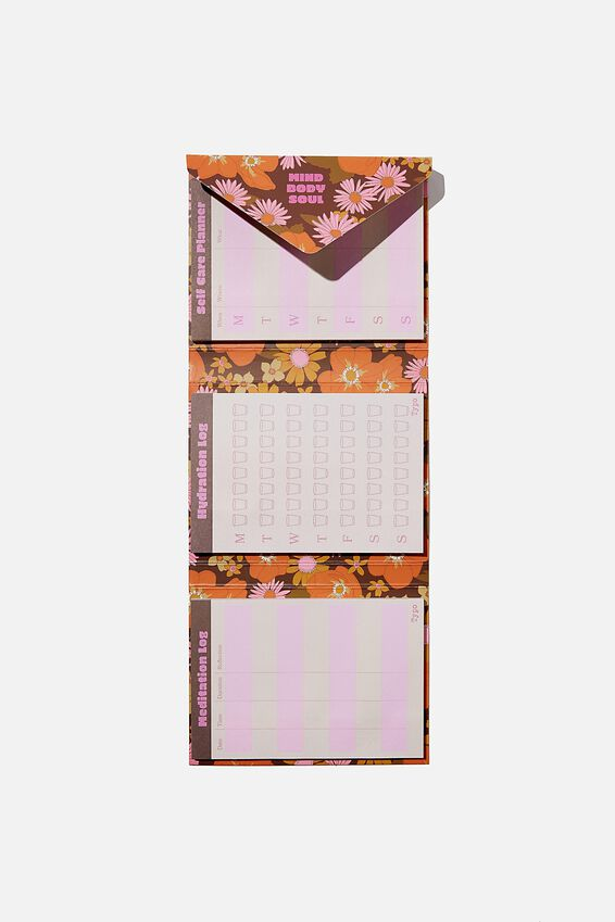 Planner Pocket Sticky Note Set, MIND BODY SOUL