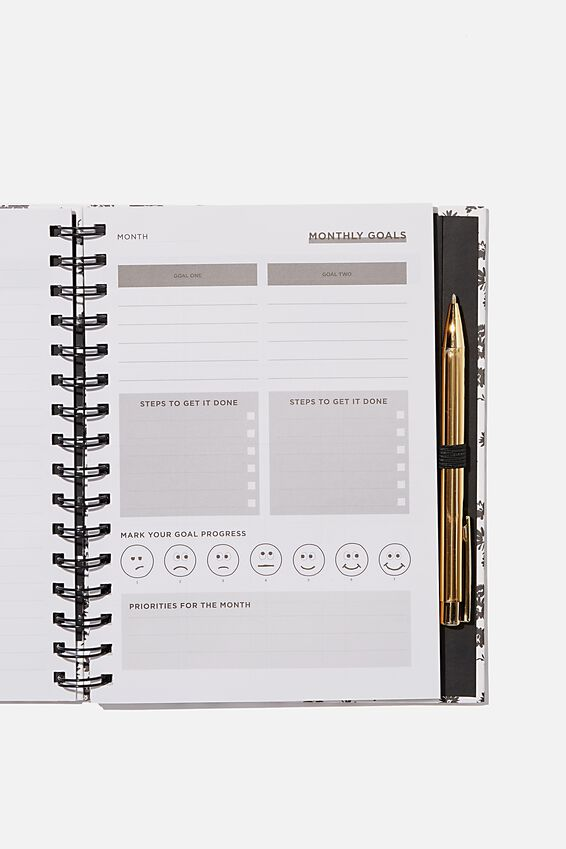 Student Planner 2020 / 21, BW DOLLY DAISY