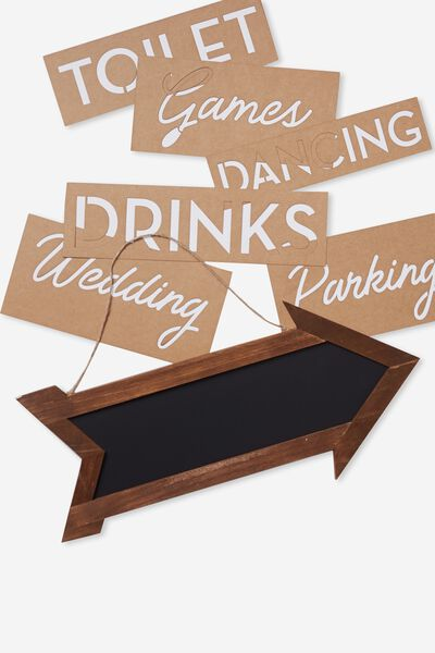 Chalk Board Sign, VINTAGE