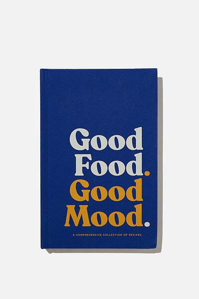 A5 Activity Book, GOOD FOOD GOOD MOOD