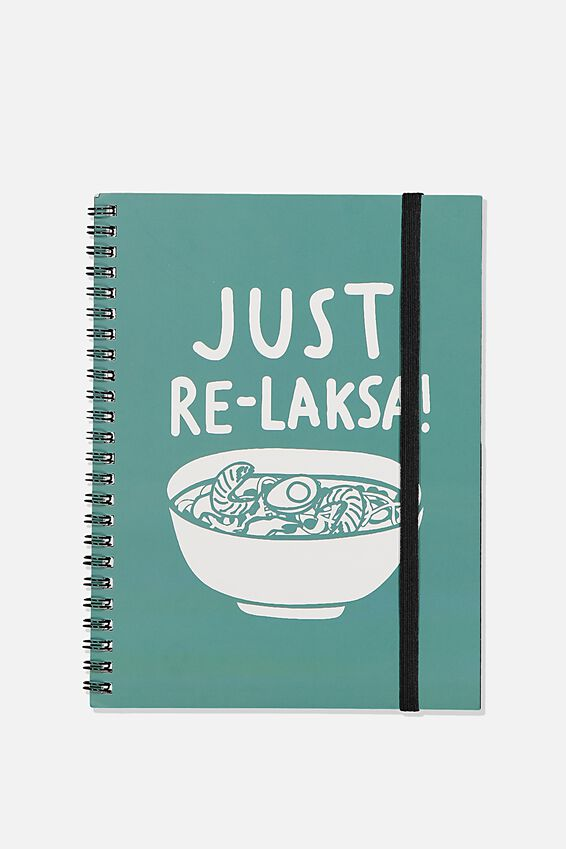 A5 Spinout Notebook Recycled, TBAR JUST RE-LAKSA