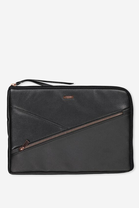 Premium Laptop Case 13 inch, BLACK LUXE