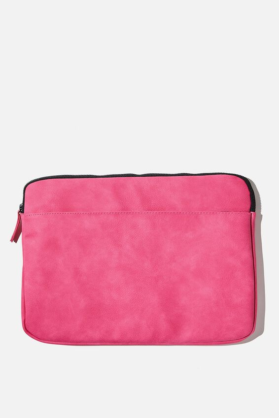 Core Laptop Cover 13 Inch, RASPBERRY