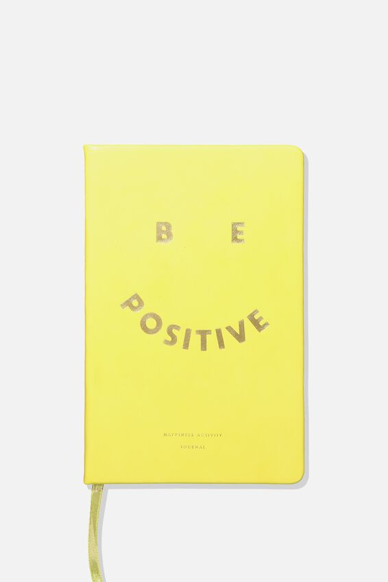 Premium Activity Journal, OMBRE HAPPINESS