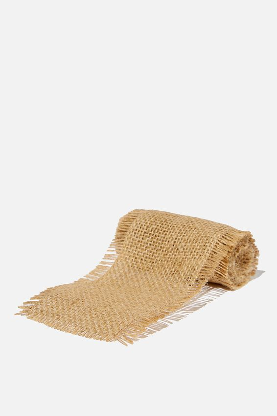 Wrapping Paper Band Rolls, HESSIAN