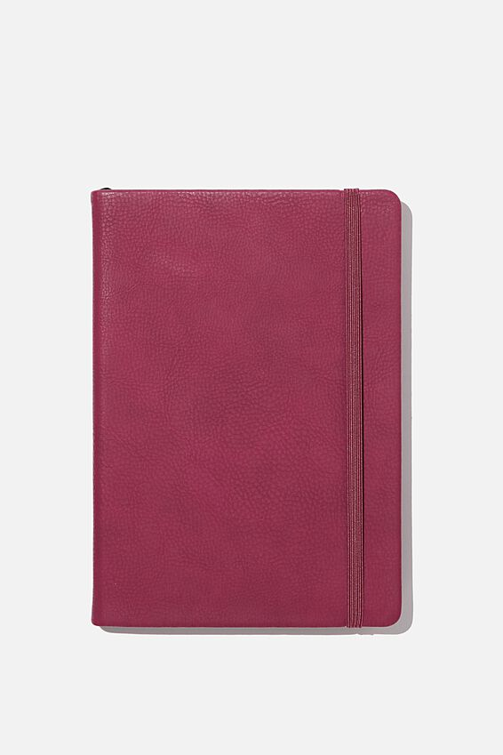 A5 Buffalo Journal, DEEP FUSCHIA