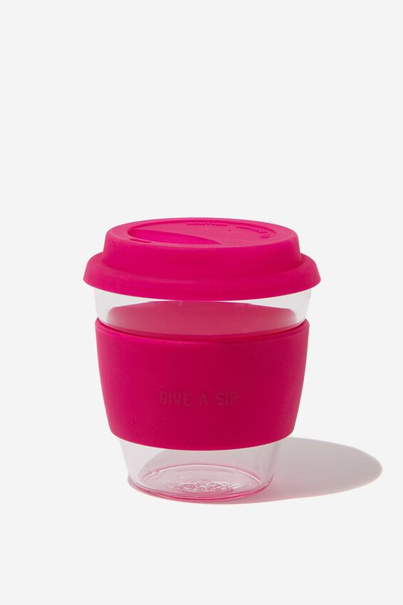 Give A Sip Cup 8Oz, PURPLE
