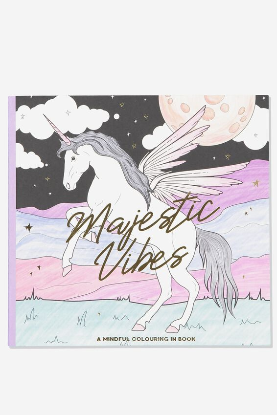 Between The Lines Colouring Book, BOHO MAGIC