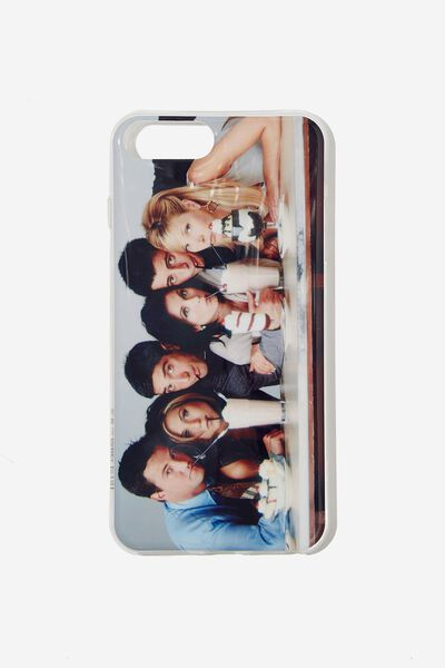 Printed Phone Cover 6,7,8 Plus, LCN WB FRIENDS PHOTO