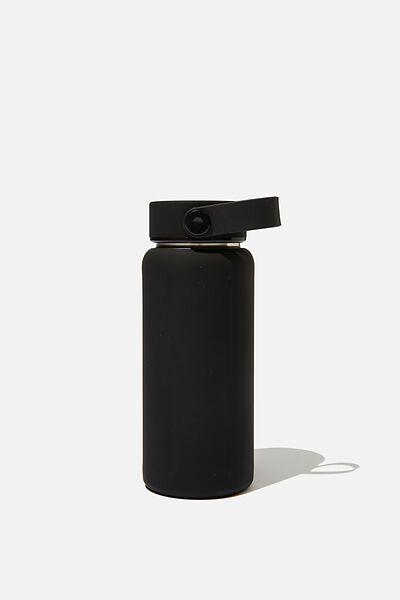 The Traveller Drink Bottle, BLACK