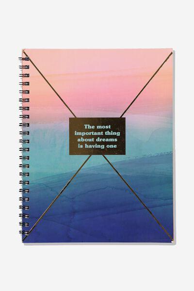A4 Campus Notebook, HAVE DREAMS