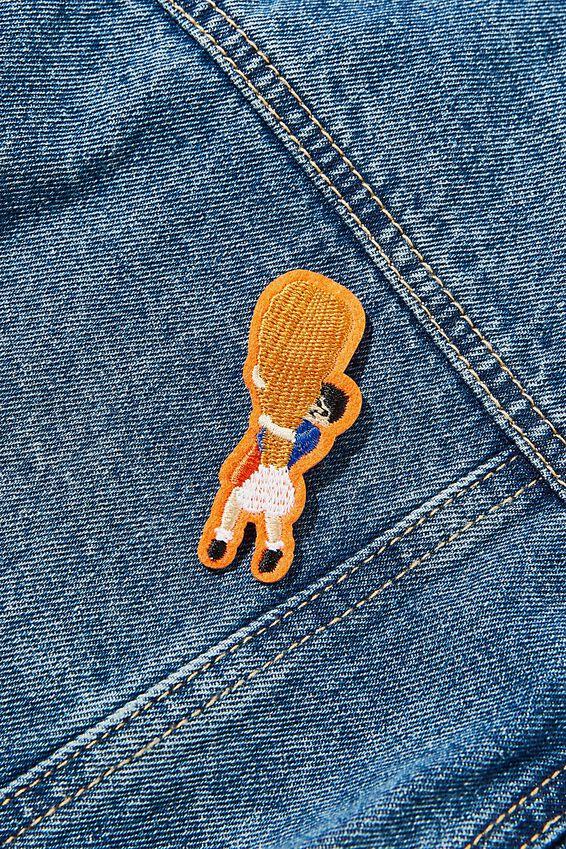 Fabric Badge, DRUMSTICK