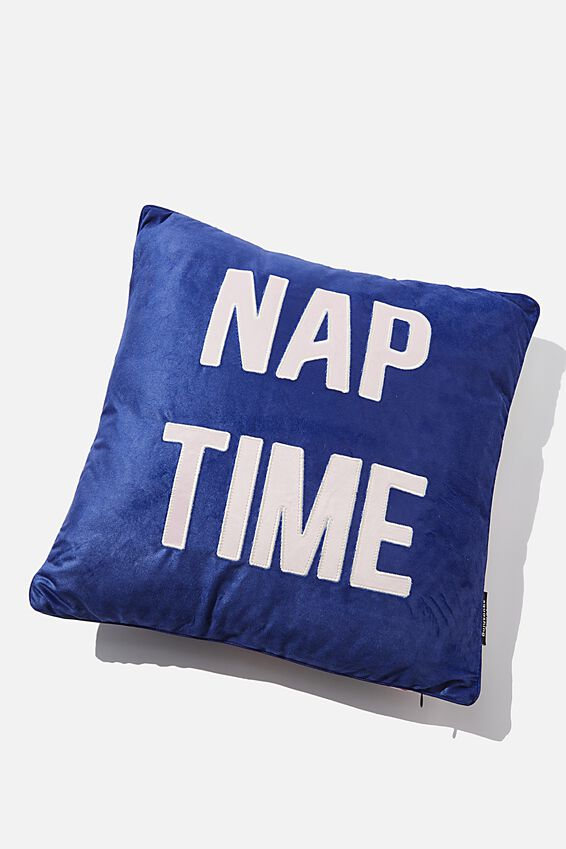 Square Cushy Cushion, NAP TIME FLORAL