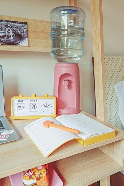 Desktop Water Dispenser, DUSTY PINK