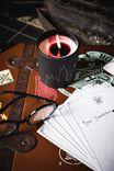 Harry Potter Reveal Candle, LCN WB HPO GRYFFINDOR BLACK
