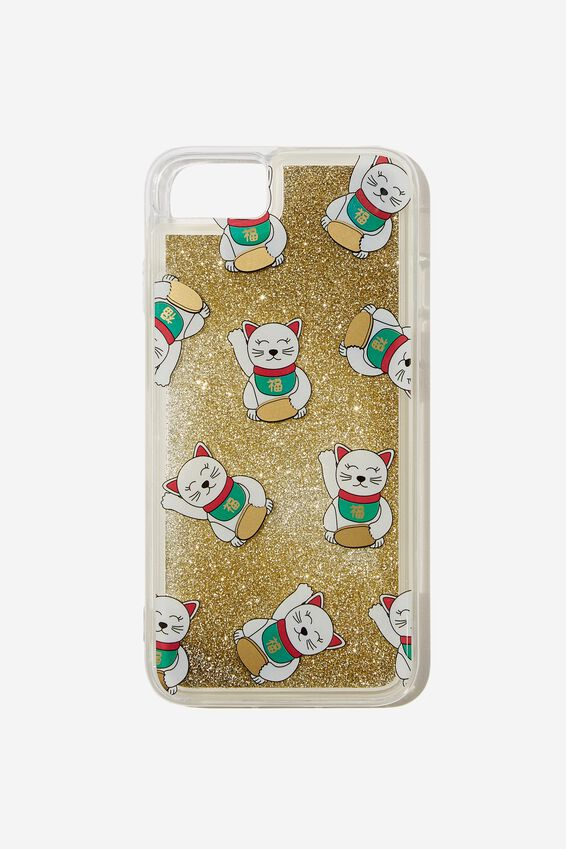 Shake It Phone Case Universal 6,7,8, LUCKY CAT