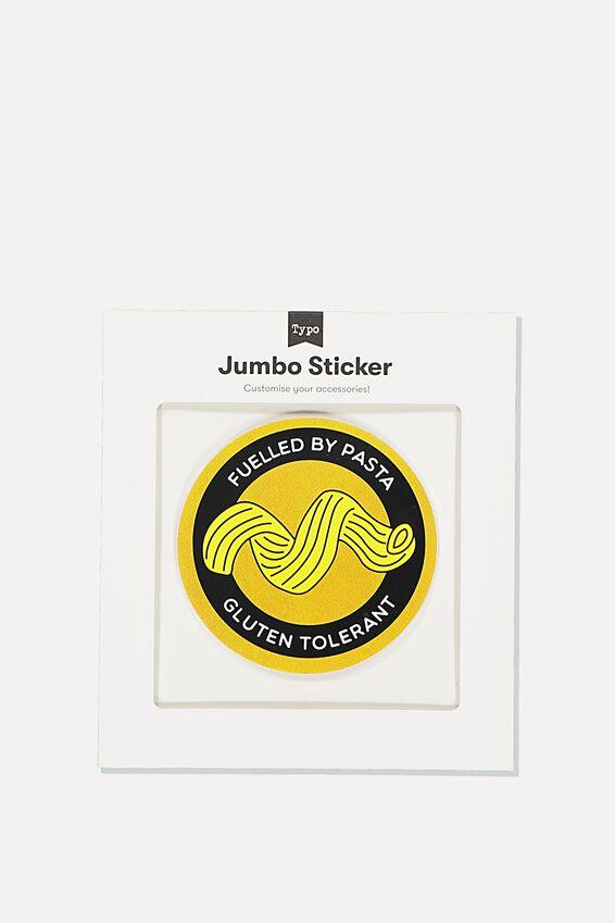 Jumbo Sticker, PASTA