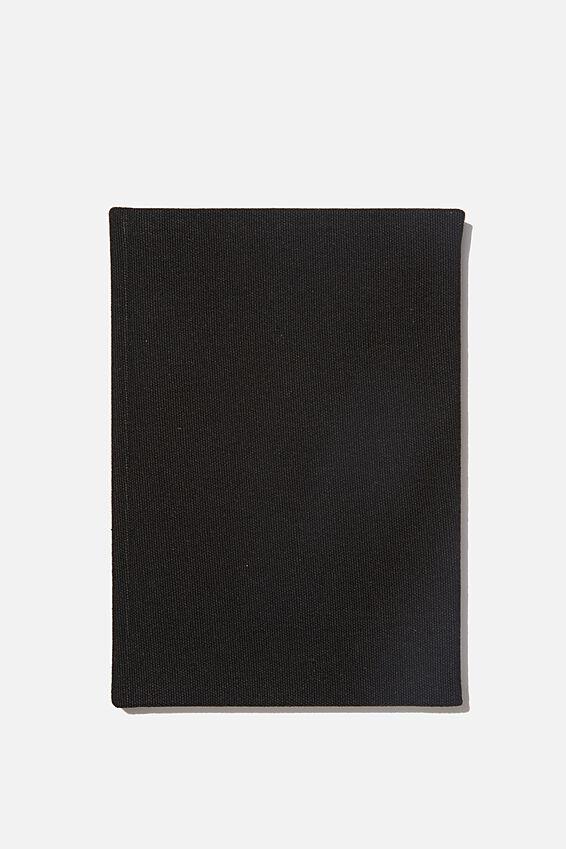 A5 Sketch Notebook, BLACK