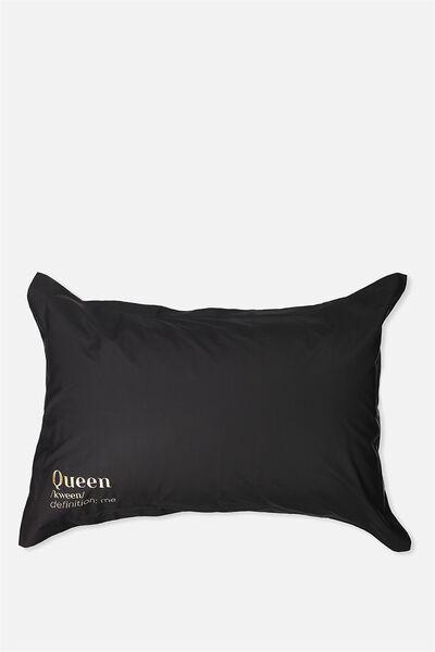 Beauty Pillow Cases, QUEEN