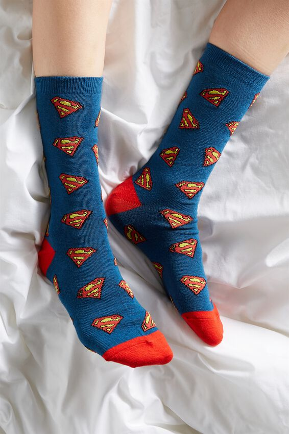 Superman Socks, LCN WB DC SUPERMAN