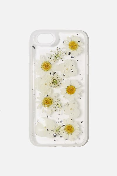 Protective Phone Case 6, 7, 8, SE, TRAPPED DAISY