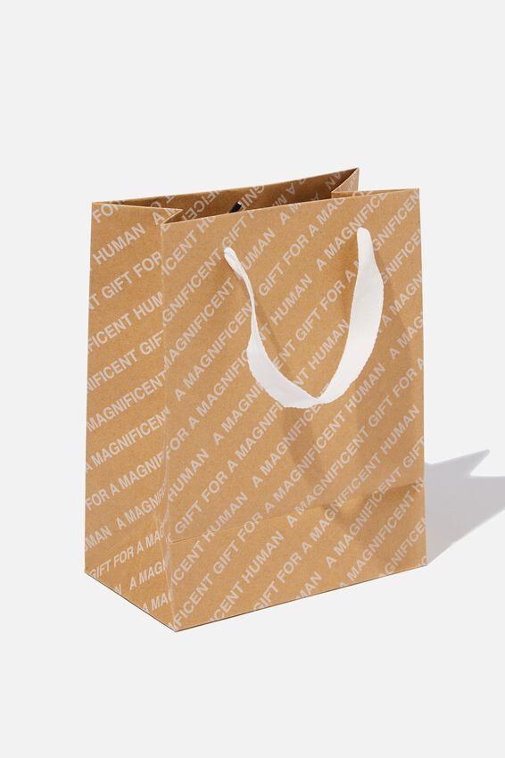 Small Stuff It Gift Bag, CRAFT MAGNIFICENT HUMAN