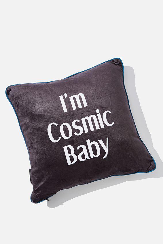 Square Cushy Cushion, COSMIC BABY EYES