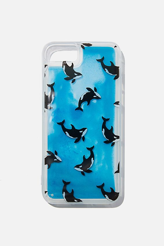 Shake It Phone Case Universal SE, 6,7,8, WHALE