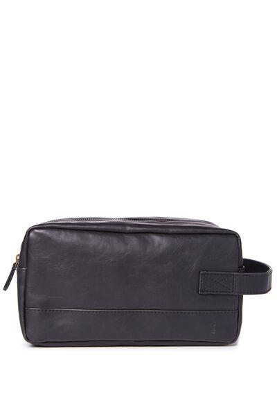 Buffalo Wash Bag, BLACK