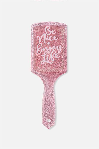 Hair Brush, BE NICE ENJOY LIFE
