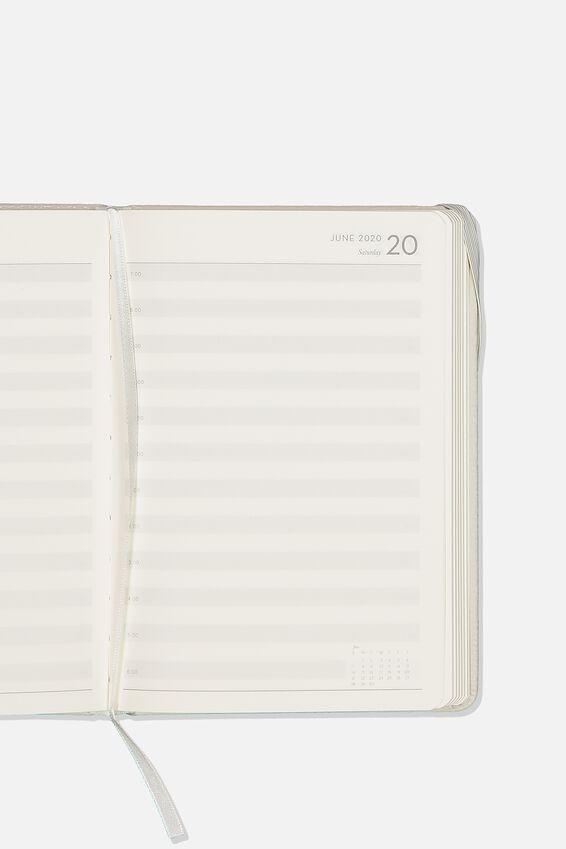 2020 A5 Daily Buffalo Diary, GREY