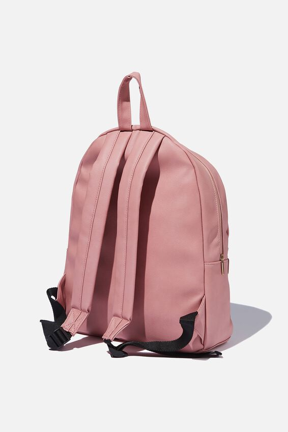 Commuter Backpack, DUSTY PINK LASER CUT