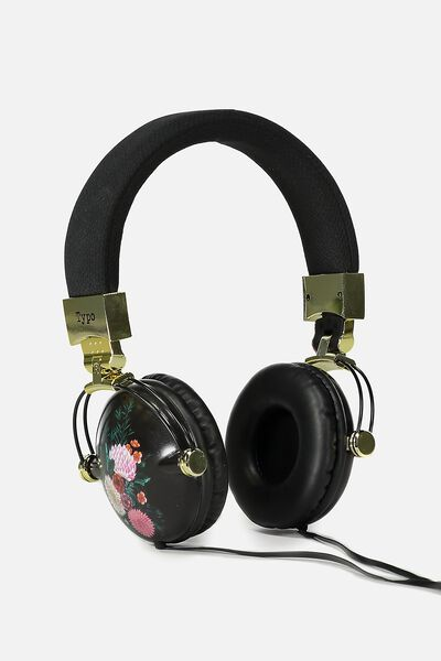 Tune Out Headphones, ORIENTAL FLORAL