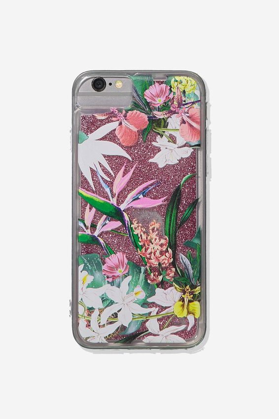Shake It Phone Case Universal 6,7,8, BIRDS OF PARADISE