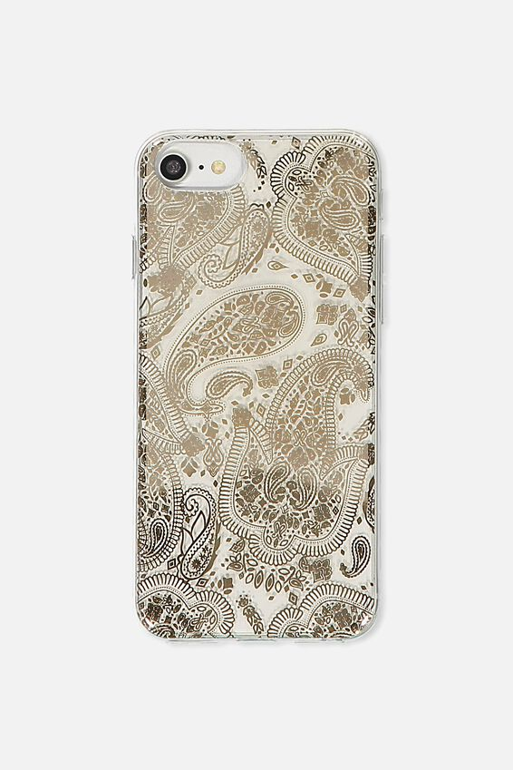 Printed Phone Cover Universal 6,7,8, ROSE GOLD LACE