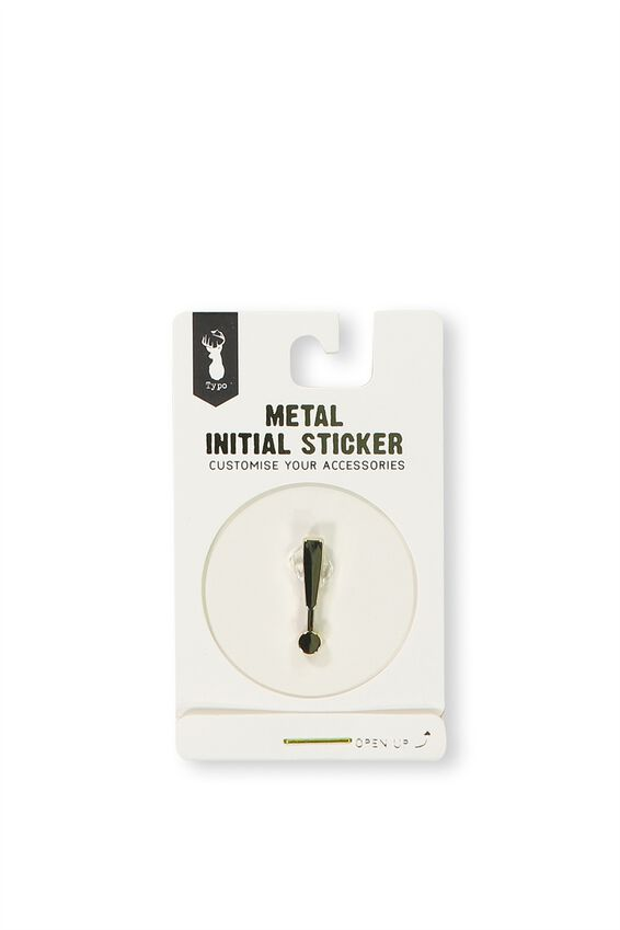 Metal Stickers, GOLD !